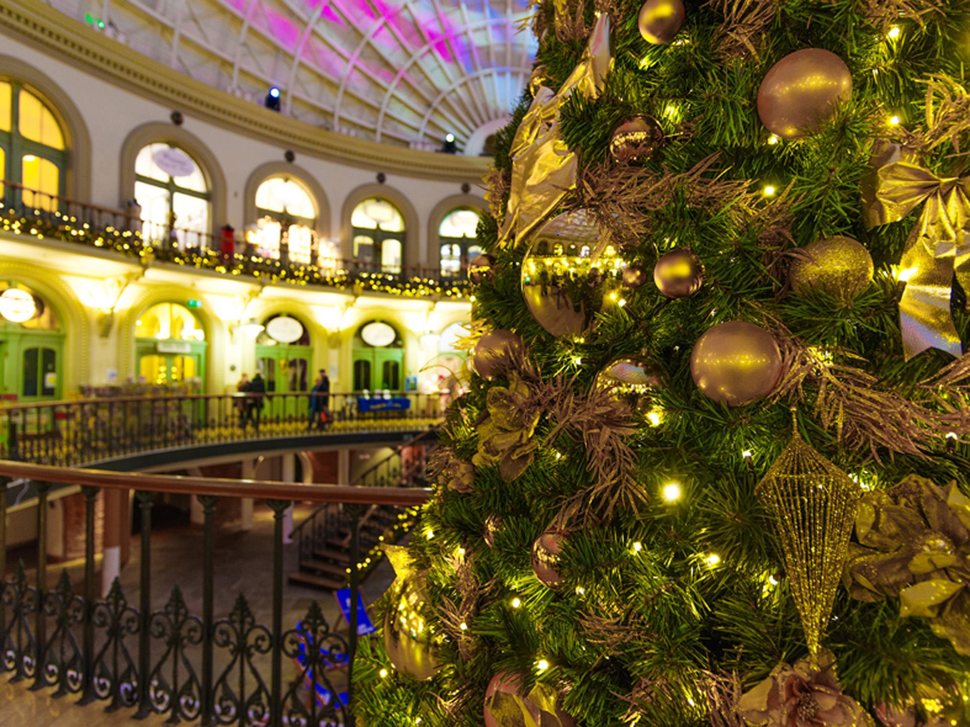 tree christmas giant burbank decorations commercial through sequioa walkthrough products walk trees decor