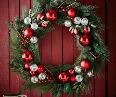 Door Wreath- horchow.com
