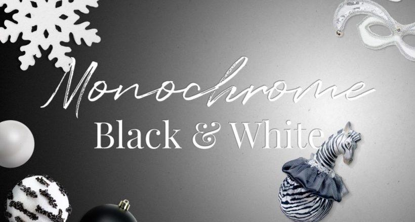 monochrome banner